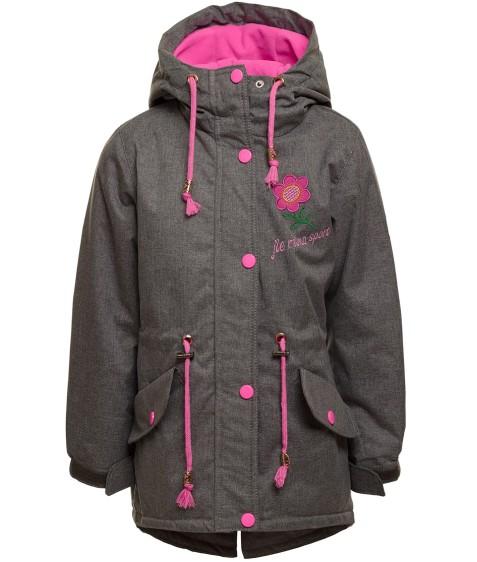 H86# розов Куртка девочка 98-128 по 6 (116)