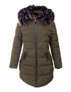 HM-971  хаки Куртка девочка 128-152 по 5