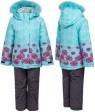 1215 бирюза Куртка девочка  110-134 по 5 шт.