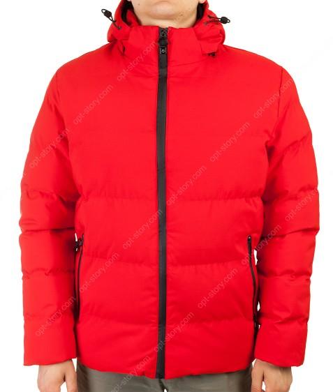 MMA-1561 красный Куртка муж M-2XL по 4