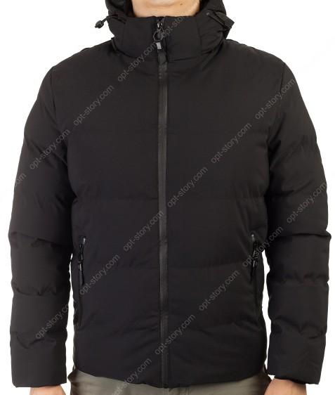 MMA-1561 черный Куртка муж M-2XL по 4