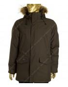 23965 хаки Куртка мужская (аляска) мех  48-56 по 5