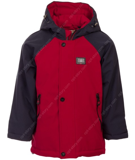 612# красн Куртка мальчик демисезон 80-104 по 5
