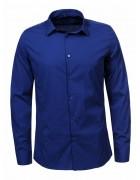 MCS-8479 синий Рубашка мужская M-XXL по 4