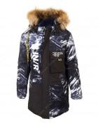 MY-20 черно-синий Куртка маль. 140-164 по 5