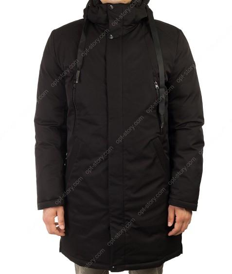 70531 черный Куртка мужская рр50