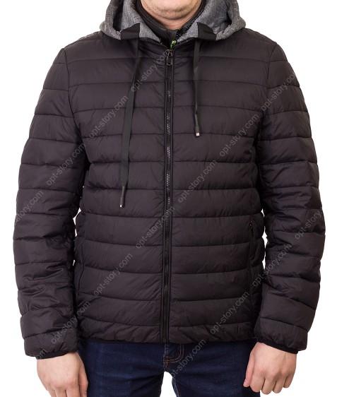 1290 чёрн Куртка мужская 3XL-7XL по 5
