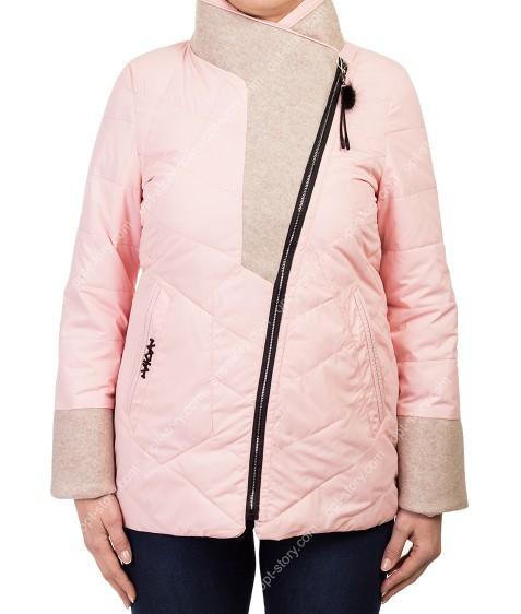 1102 роз Куртка женская M-2XL по 4