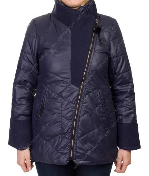 1102 т.син Куртка женская M-2XL по 4