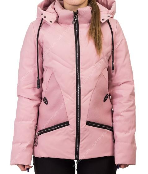 8896 роз Куртка женская S-2XL по 5