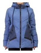 8896 син Куртка женская S-2XL по 5