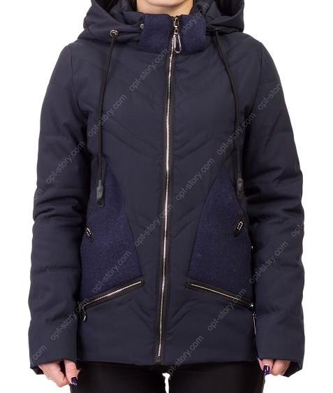 8896 т.син Куртка женская S-2XL по 5
