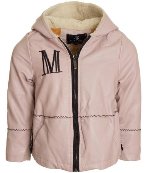 8A75 пудра Куртка девочка 110-150 по 5 (110, 120, 150)