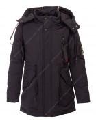 8928# чёрн  Куртка мальчик демисезон 116-140 по 5