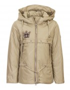 8935# беж Куртка девочка демисезон 110-134 по 5