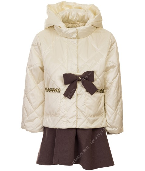 8963# бел Куртка девочка 92-116 по 5