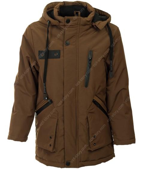 955# корич. Куртка мальчик демисезон 134-158 по 5