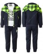 CH5729 зеленый Спорт. костюм мальчик 1-5 по 5