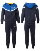KK1004 синий Спорт. костюм мальчик 8-16 по 5