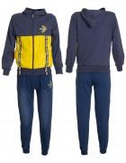 80022 желт Спорт костюм мальчик 134-164 по 6