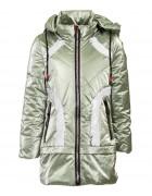 1901# хаки Куртка девочка110-134 по 5