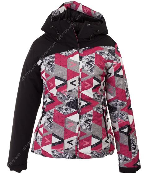 W181 красн. Куртка женская S-2XL по 7