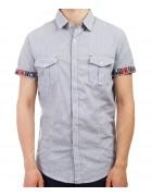 3663 гол Рубашка мужская M-3XL по 5