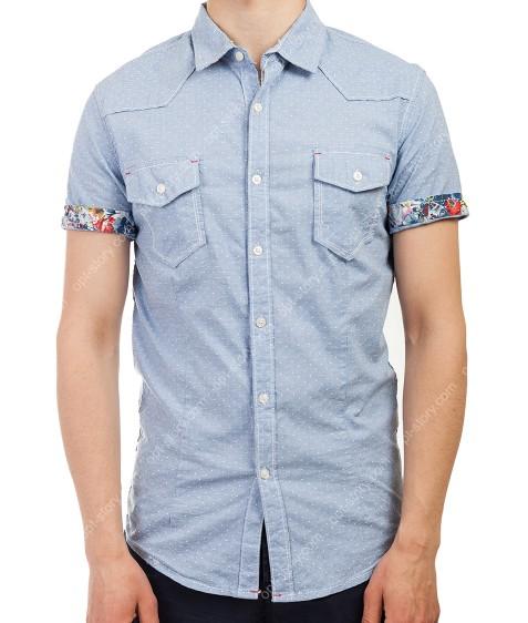 3665 гол.  Рубашка мужская M-3XL по 5