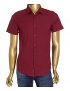 1311V-5 бордо(кор. рукав) Рубашка мужская S-XL по 4 (XL)