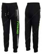 86789 зеленый Спортивные штаны мальчик 134-164 по 6