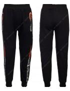 86784 черный Спортивные штаны мальчик 116-146 по 6
