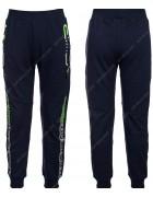 86784 синий Спортивные штаны мальчик 116-146 по 6