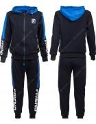 86782 синий Спортивный костюм мальчик 134-164 по 6