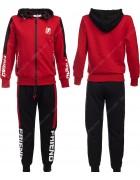 86782 красный Спортивный костюм мальчик 134-164 по 6