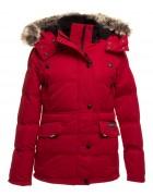 71029 красн Куртка женская S- 2XL по 5
