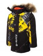 7733-1 желтый Куртка маль. 98-122 по 5