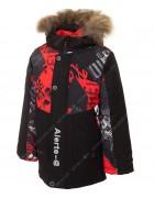7733-3 красный Куртка маль. 98-122 по 5