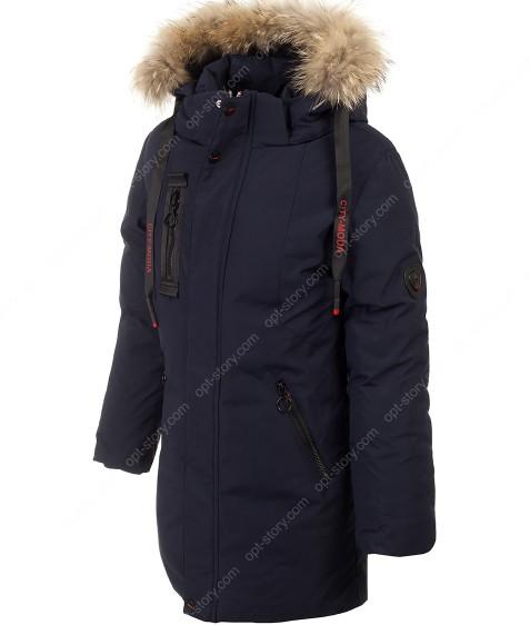 A-018 синий Куртка мальчик 146-170 по 5