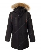 A-018 черный Куртка мальчик 146-170 по 5