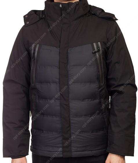 DM-2216-B#3 черн.  Куртка мужская 48-56 по 5