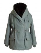 8892 бирюз Куртка женская One Size по 3