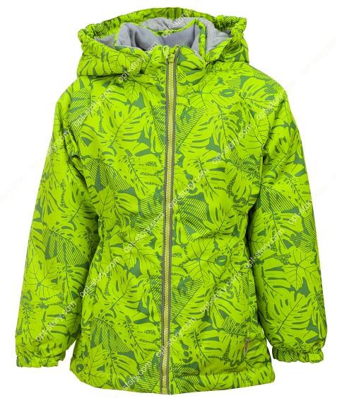 B25-02 зеленый Куртка дев. 104-128 по 5