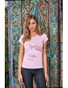 8100 Футболка женская розовая M по 3