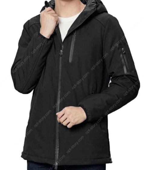 1276 черн. Куртка муж.термо M-3XL по 5