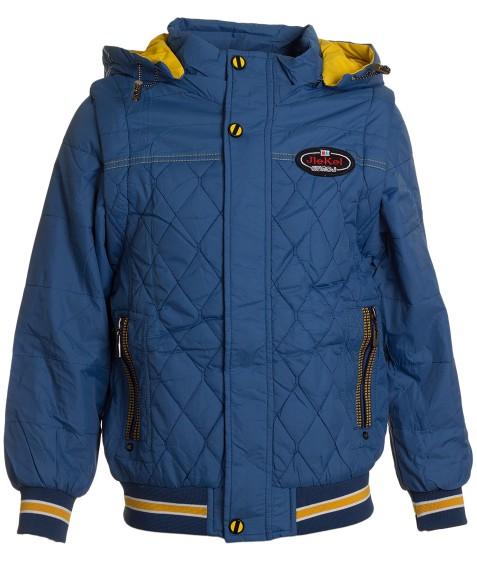 B-15 син. Куртка мальчик 122-146 по 5 (146)