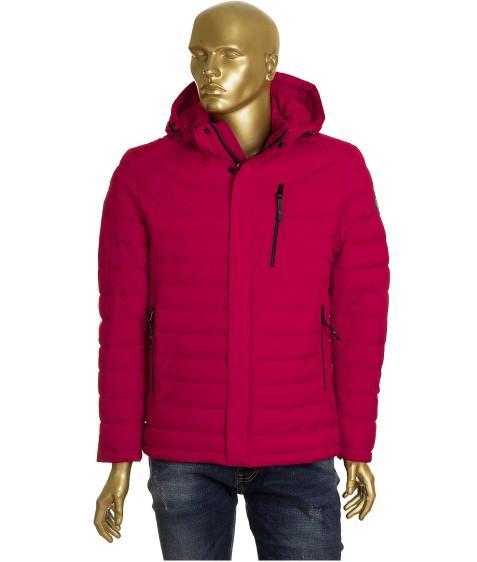 T-093 красная Куртка мужская 48-56 по 5 (50, 54)