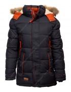 1803 черн. Куртка мальчик 146-170 по 5