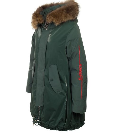 Z-2101 зел. Куртка девочка 140-164 по 5 шт.