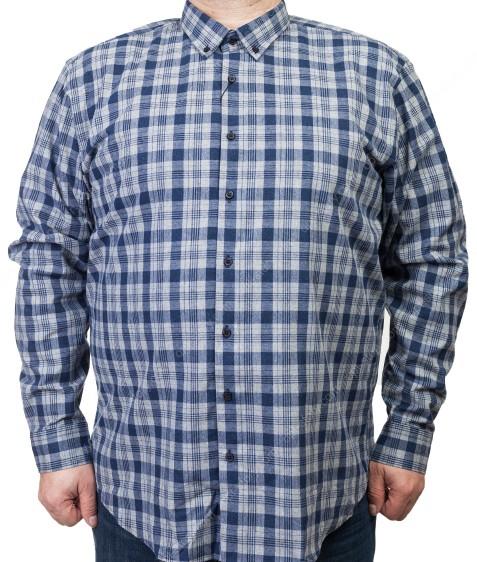 7954-6 Рубашка мужская (коттон) 3XL-6XL по 4