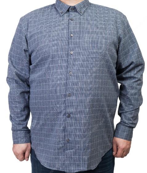 7954-7 Рубашка мужская (коттон) 3XL-6XL по 4